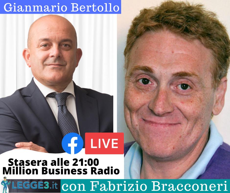 In diretta con Fabrizio Bracconeri, per far conoscere la legge salva suicidi
